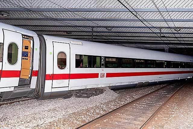Nach ICE-Entgleisung in Basel: Strecke wohl bis Dienstag gesperrt