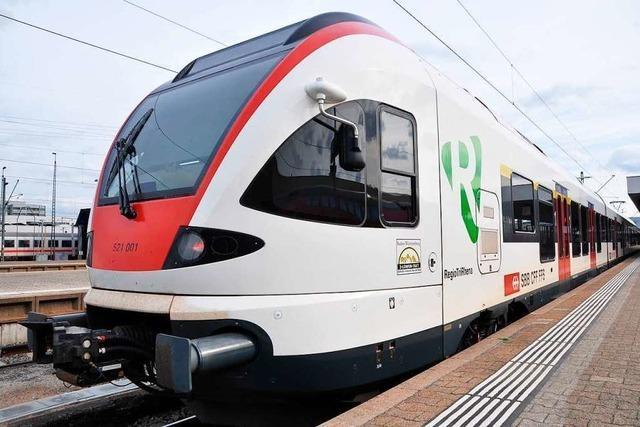 Entgleister ICE in Basel: Auch die Regio-S-Bahn ist betroffen