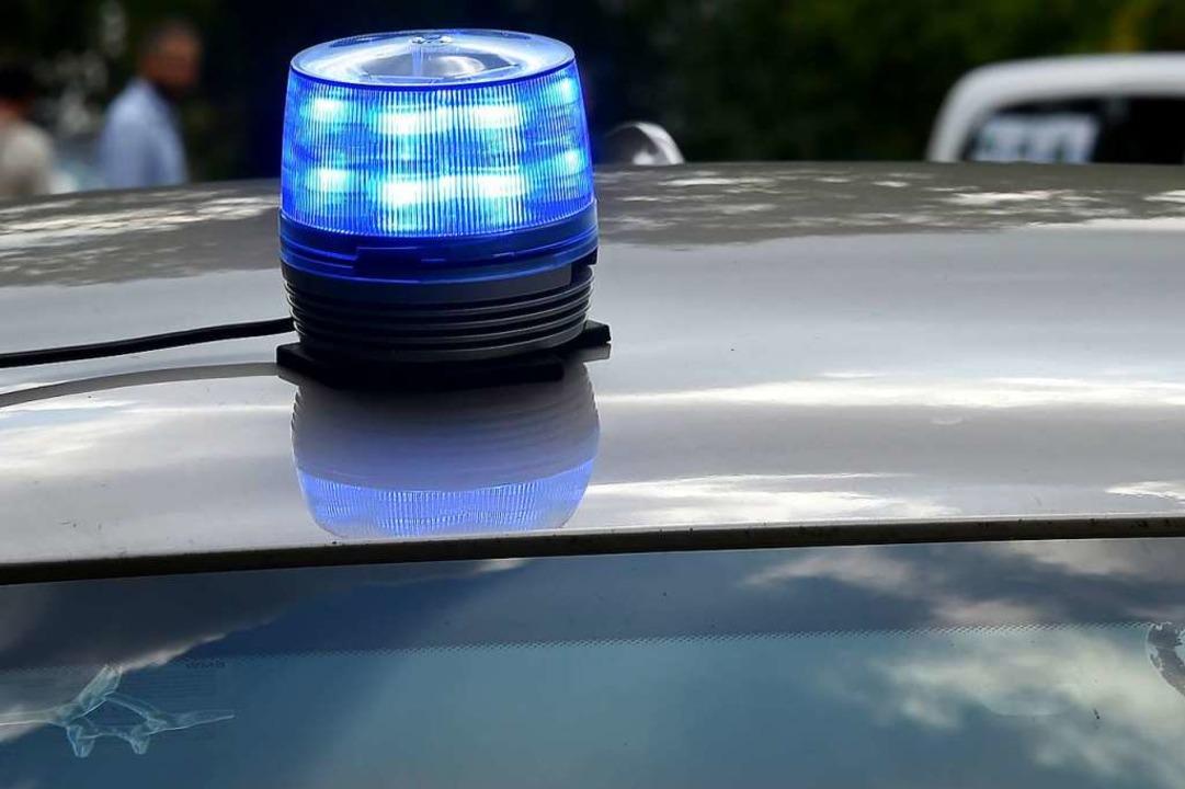 Polizei und Bundespolizei waren am Son...ICE eine Notbremsung eingelegt hatte.   | Foto: Bernd Settnik/dpa