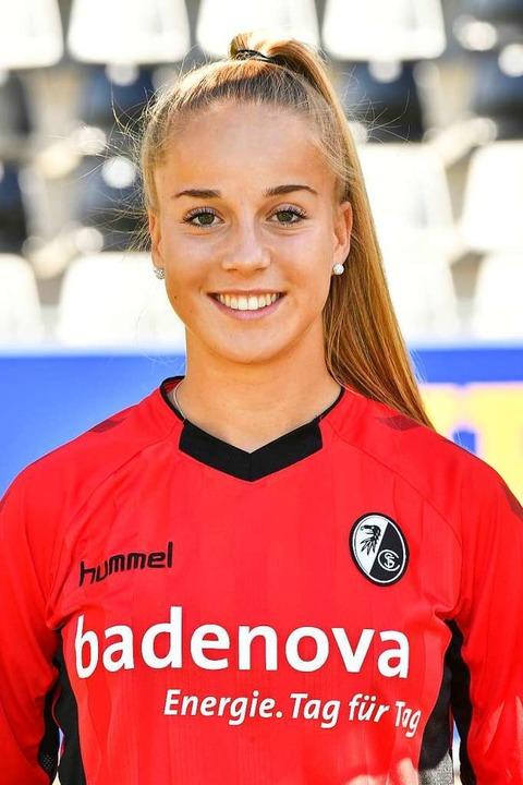 Nach dieser Spielzeit wird Giulia Gwinn den SC Freiburg verlassen.  | Foto: Achim Keller