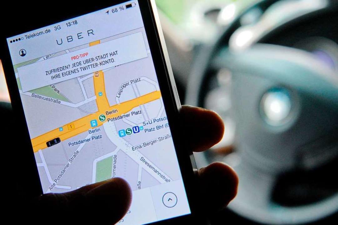 Laut den Eckpunkten soll die sogenannt... wie Uber –  abgeschafft werden.  | Foto: Britta Pedersen