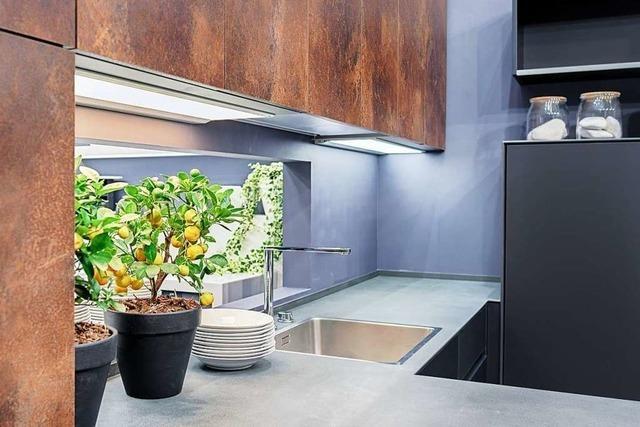 Rost, Granit, Keramik und Beton - neue Küchentrends in 2019