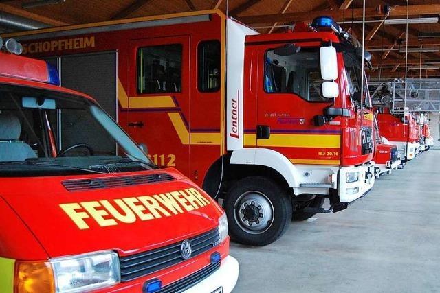 Die Schopfheimer Feuerwehr rückt oft wegen Fehlalarmen zum Markus-Pflüger-Heim aus