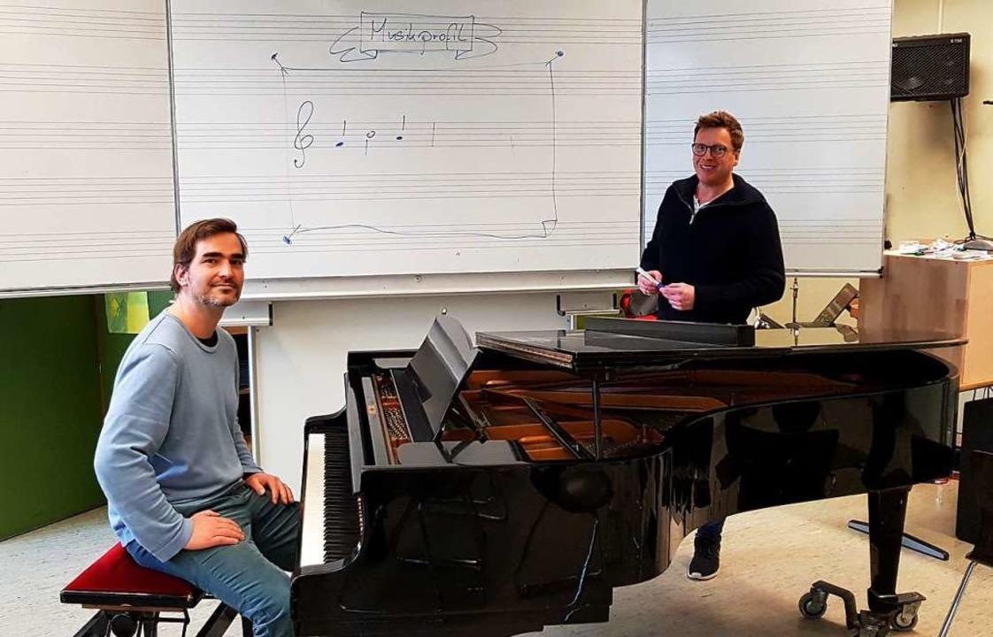 Kirsten Galm (links) und Andreas Walte...profils am MSG im kommenden Schuljahr.  | Foto: Julius Wilhelm Steckmeister