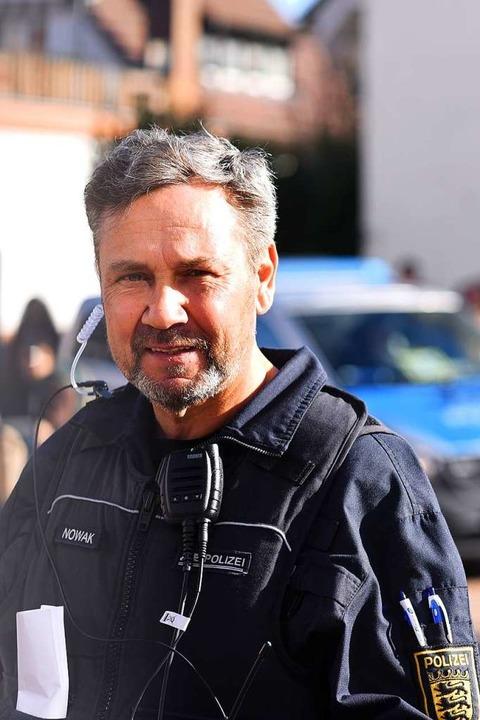 Michael Nowak, Polizeipostenleiter  | Foto: Jonas Hirt
