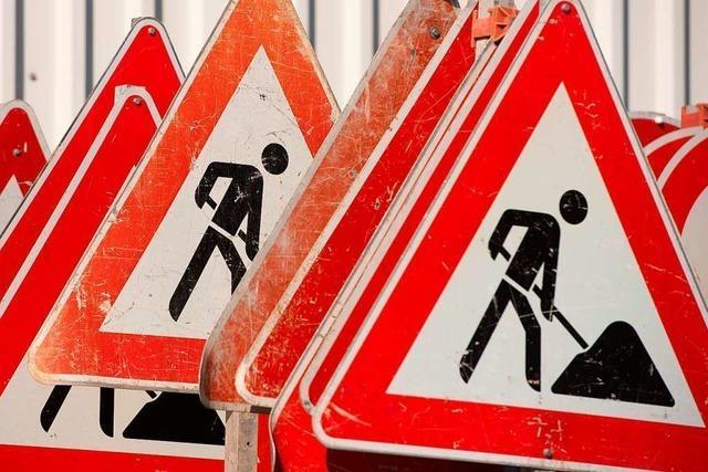 Die Mercystraße ist am Dienstag und Mittwoch tagsüber gesperrt