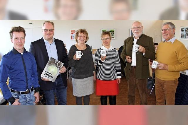 Spendenübergabe in Kenzingen