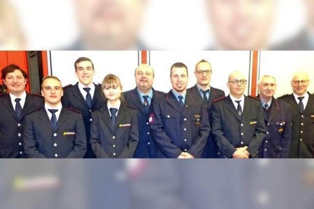 Kommandowechsel bei der Feuerwehr