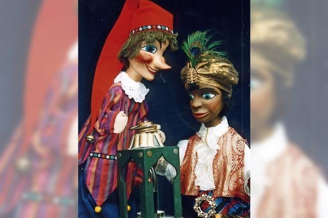 Puppentheater mit Kasper und Aladin