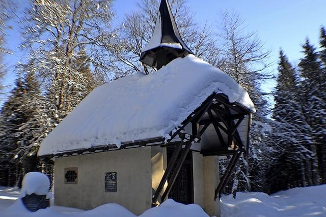 Kapelle erhält neues Dach