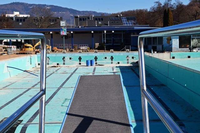 Schopfheimer Schwimmbad eröffnet wieder im April nach der Sanierung