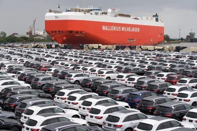 Drohung mit Strafzöllen auf Autos