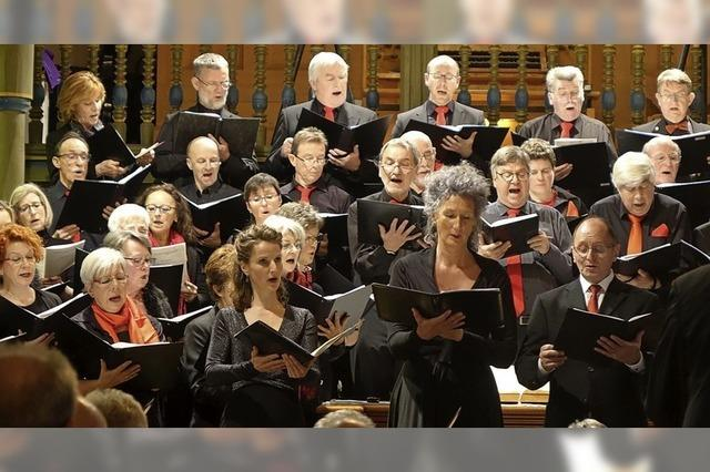 Sakrale Chormusik, die berührt