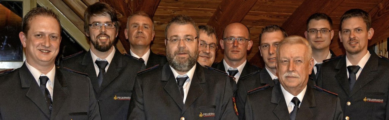 Bei der Feuerwehr Efringen-Kirchen wur...emmer, René Medam und Markus Greiner.   | Foto: Pinkawa