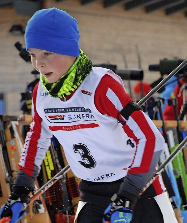 Gesamtwertungs-Dritter: Maximilian Schneider,  Bad Säckingen   | Foto: ruoff