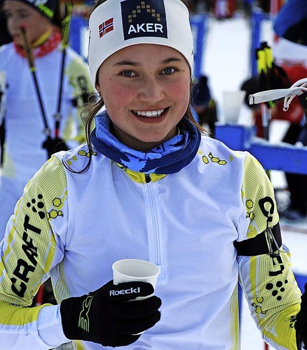Licht und Schatten: Dana Horngacher wurde Fünfte und 14. beim DSC in Oberhof.  | Foto: ruoff
