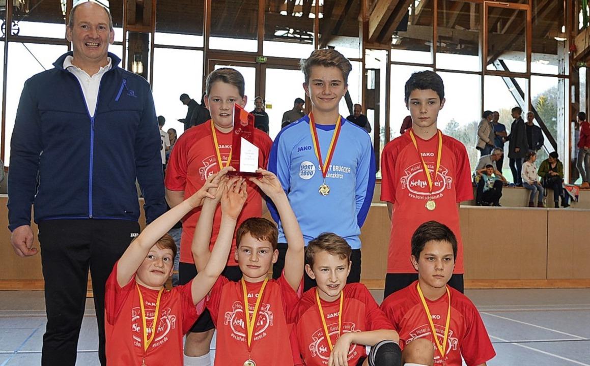 Die D-Junioren der SG Feldberg haben a...Sigwarth, Ivan Buric und Peter Burci.   | Foto: Herrmann