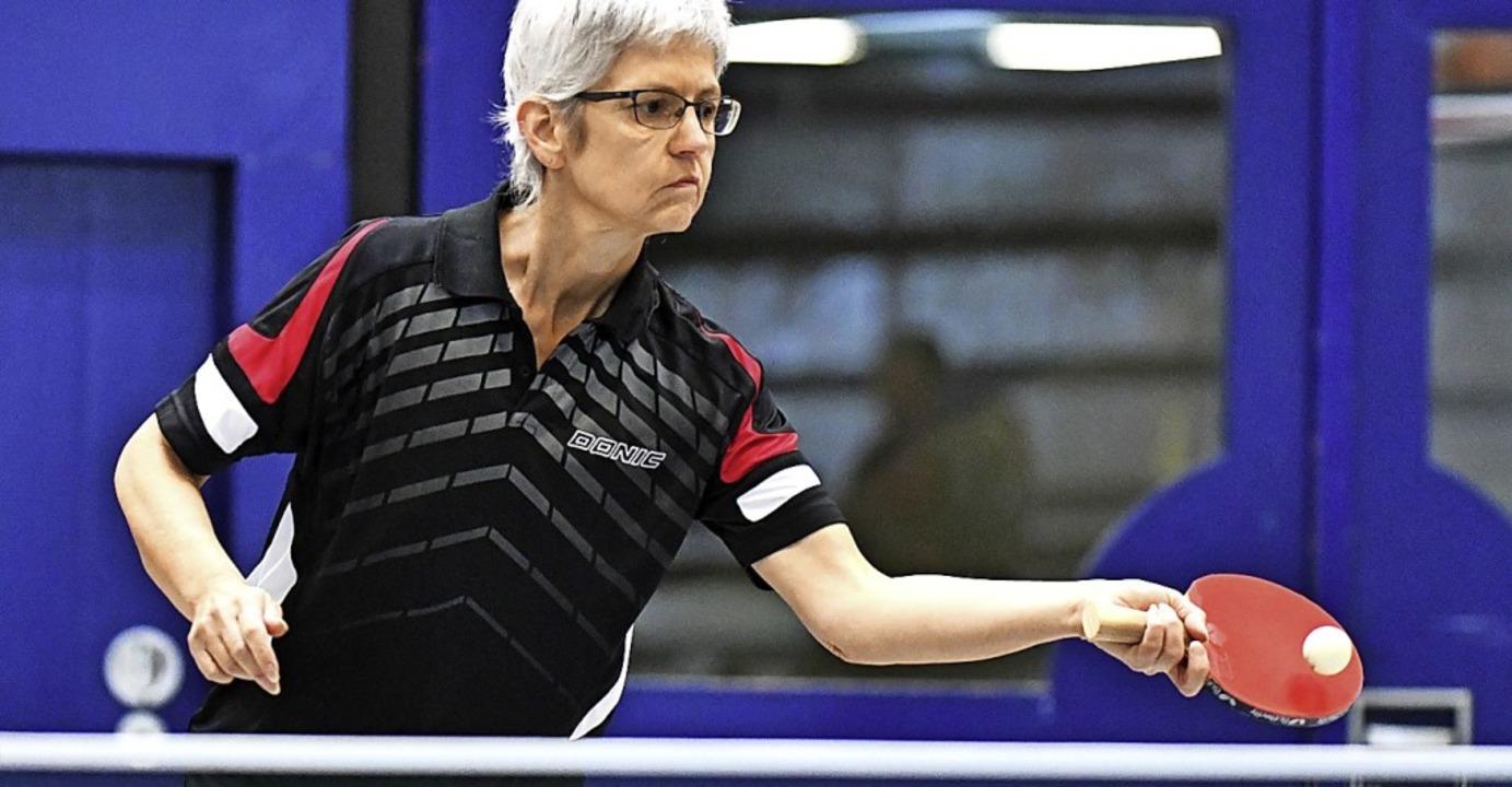 Anita Geppert  steuerte gegen Nollingen zwei Einzelsiege bei.   | Foto: Keller