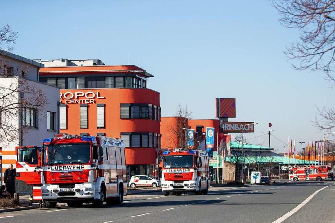 Feuerwehreinsatz wegen Fliegerbombe in Nürnberg  | Foto: dpa