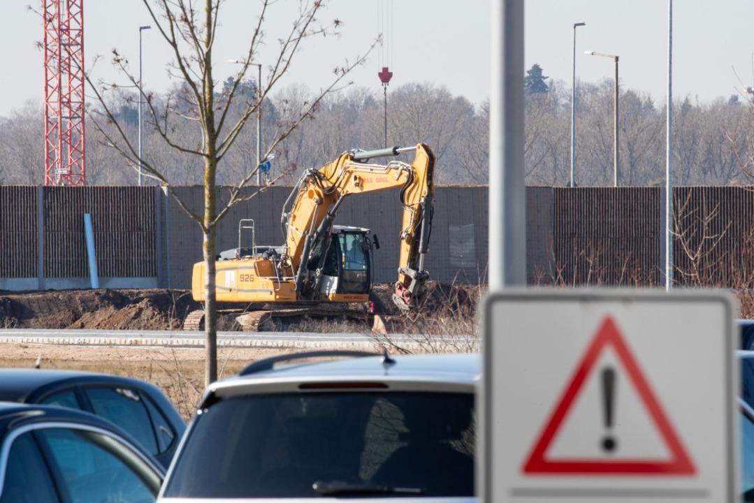 Die Bombe war bei Bauarbeiten entdeckt worden.  | Foto: dpa