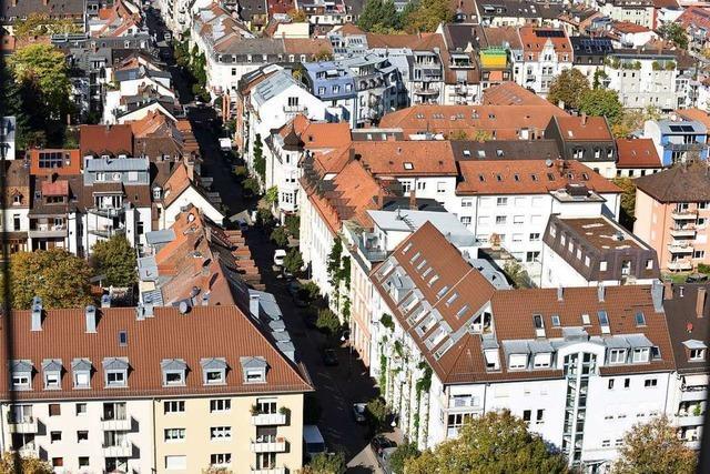 Jeder Leerstand schmerzt in Freiburg doppelt
