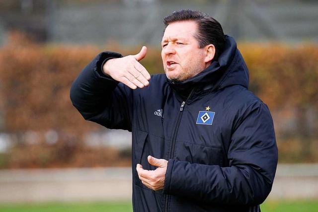 Ex-HSV-Coach Titz trainiert am Dienstag in Lörrach