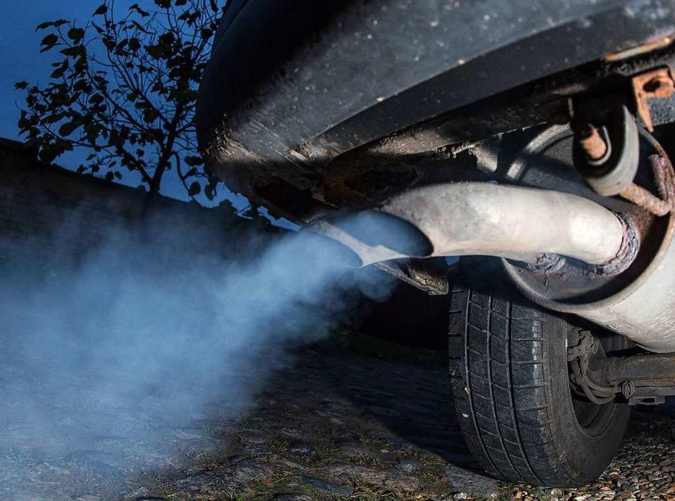 Die Regierung will weitere Dieselfahrverbote verhindern. (Symbolbild)  | Foto: dpa