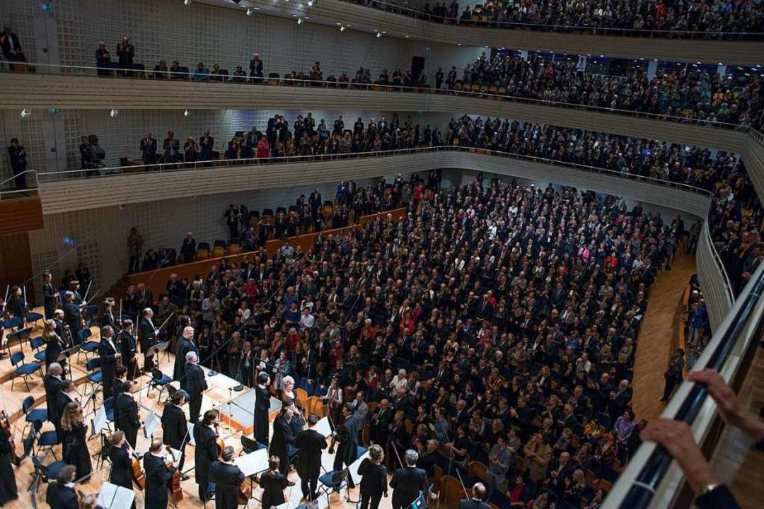 Blick in den Konzertsaal in Luzern  | Foto: Priska Ketterer