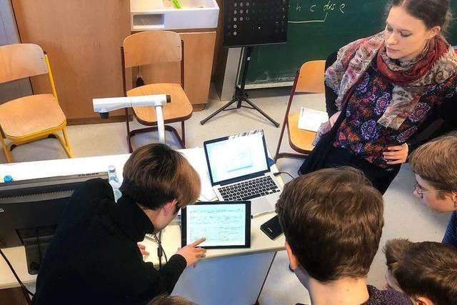 In diesem Workshop lernen Jugendliche, wie man selbst ein Stück komponiert