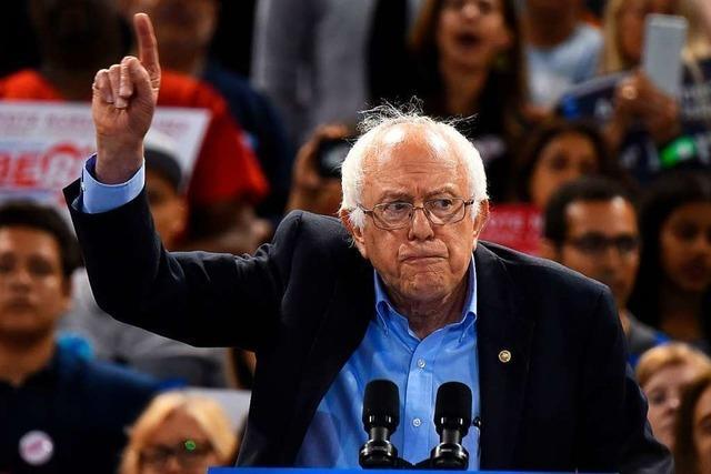 Bernie Sanders kündigt erneute Kandidatur für US-Präsidentschaft an