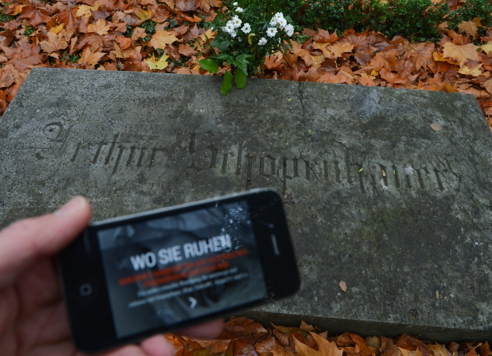 Auch das Auffinden von Gräbern soll erleichtert werden.    Foto: dpa