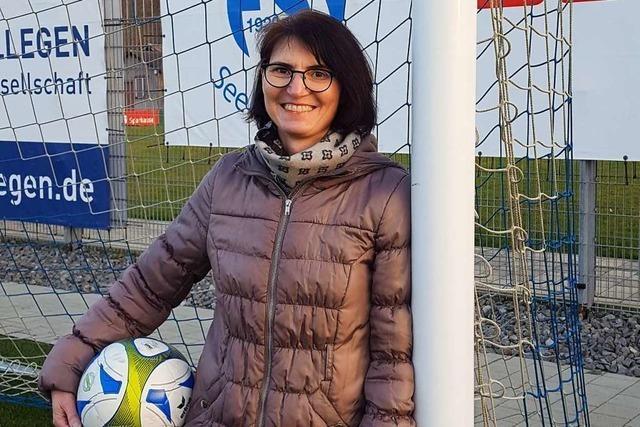 Die erste Jugendleiterin beim FSV Seelbach