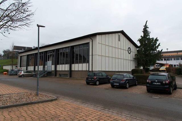 Der Neubau Münchgrundhalle in Altdorf steht wieder auf der Kippe