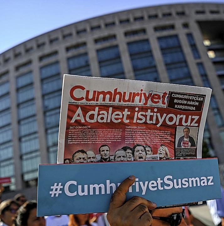 Die kritische Cumhuriyet   | Foto: AFP