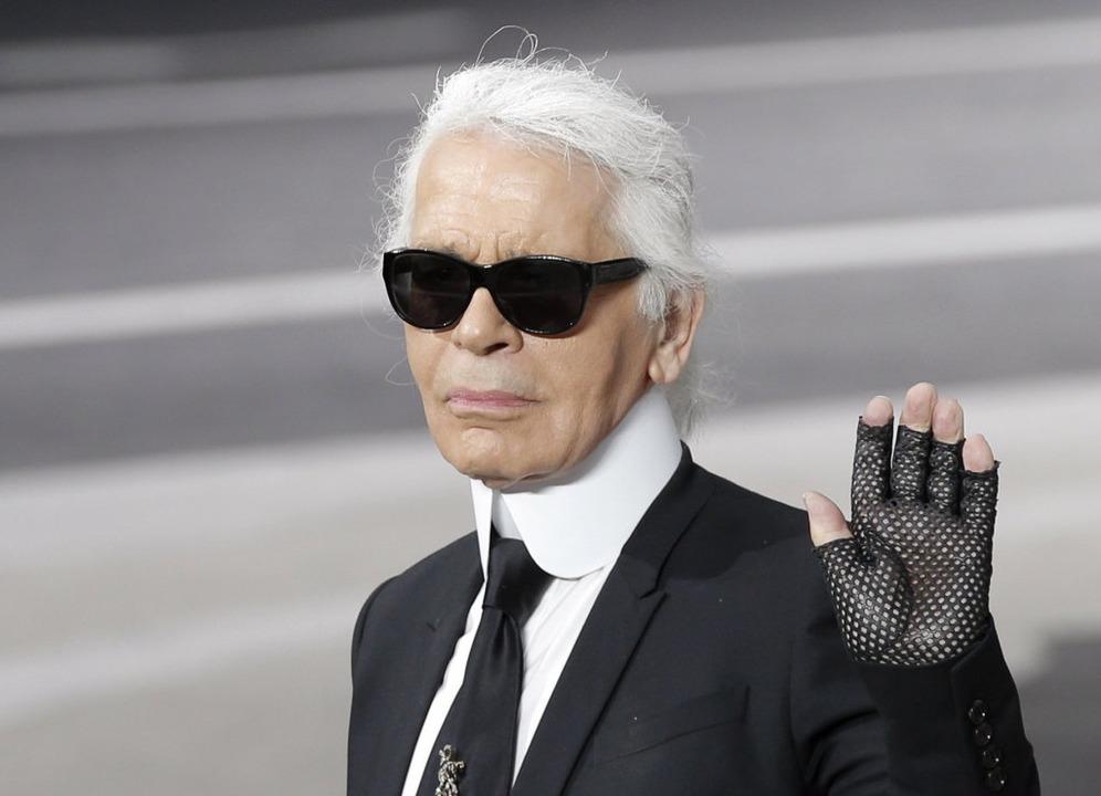 Karl Lagerfeld.  | Foto: dpa