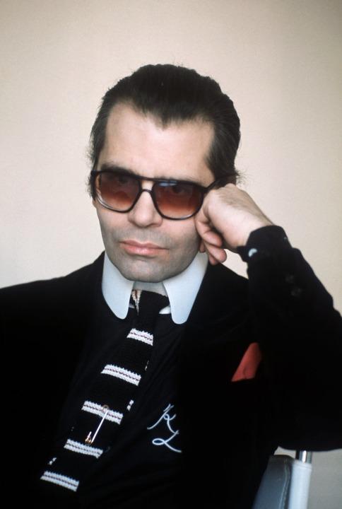 Karl Lagerfeld im Jahr 1979.  | Foto: dpa