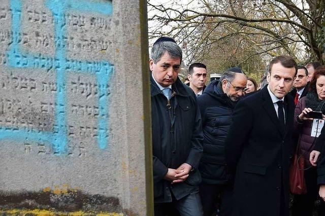 Unbekannte schänden auf Friedhof 96 jüdische Gräber