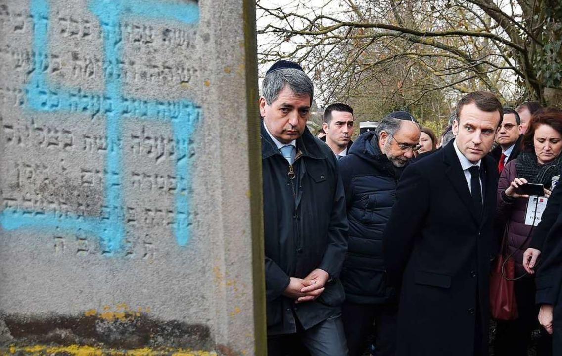 Unbekannte schänden auf elsässischem Friedhof 96 jüdische Gräber ...