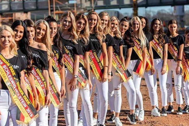 Eine von ihnen wird am Samstag Miss Germany