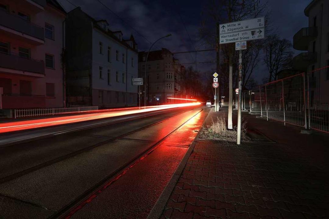 Alles dunkel in Berlin-Köpenick  | Foto: dpa