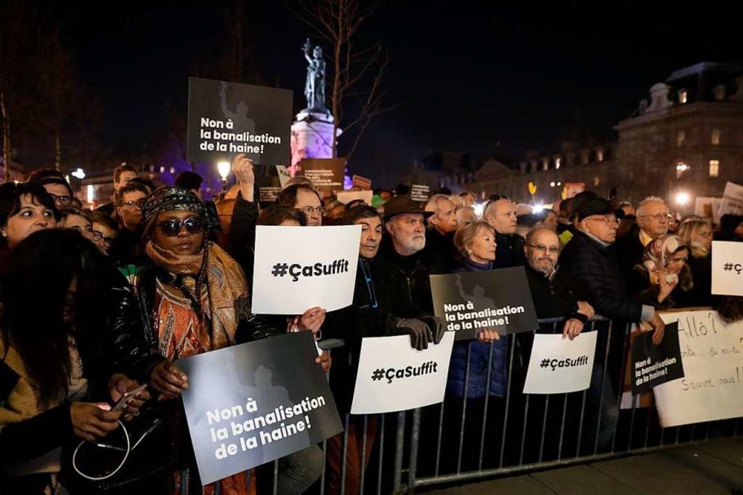 #çasuffit – es reicht    Foto: AFP