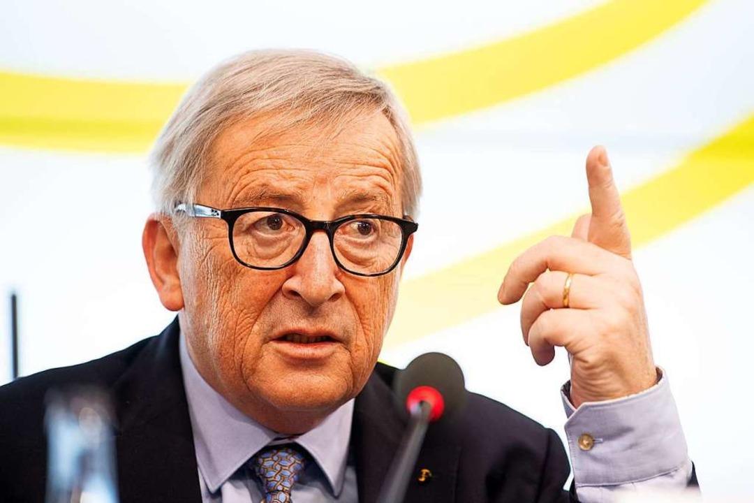Jean-Claude Juncker  | Foto: dpa