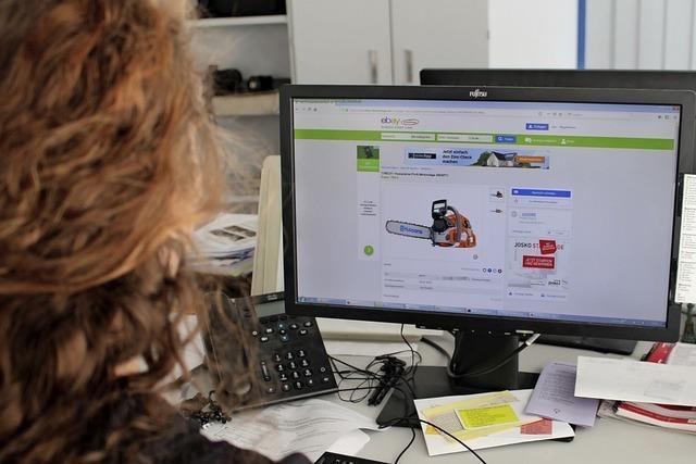 Betrüger stellt digitale Einkaufsfalle