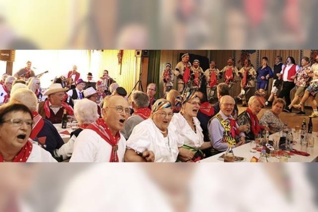 Wenn die Senioren Fasnet feiern...