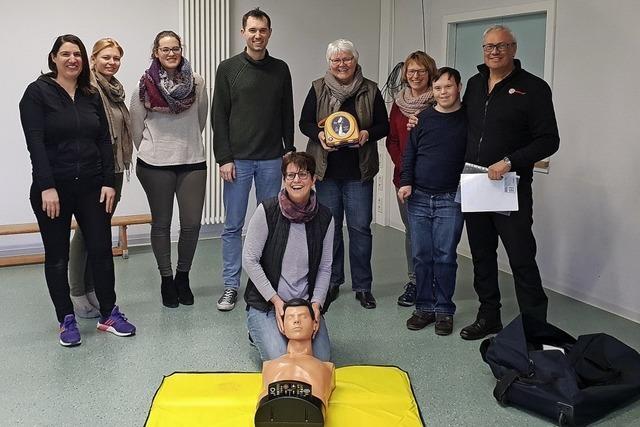 Ein Defibrillator für die Kita
