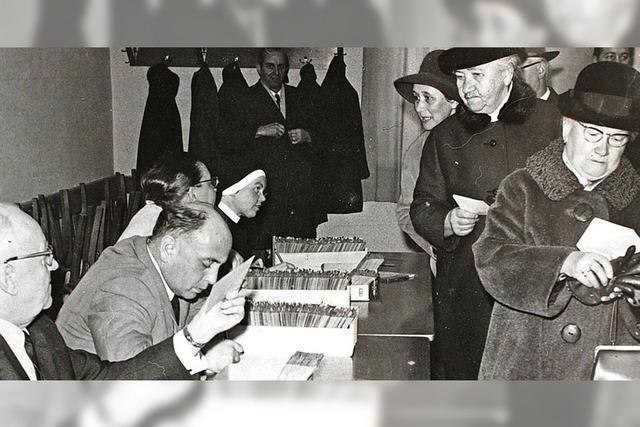 Ein Viertel der Wehrer Katholiken ging zur Urne