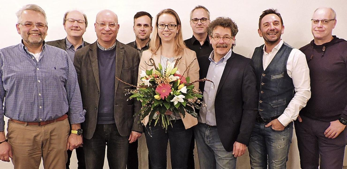 Die Vorstandsmitglieder und Strategieb...de, Frauen wollten nicht kandidieren.   | Foto: Sylvia Sredniawa