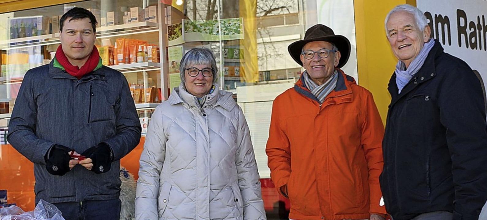 Matthias Dirrigl, Brigitte Pantze, Joh...d der SPD Weil am Rhein und Haltingen   | Foto: Privat
