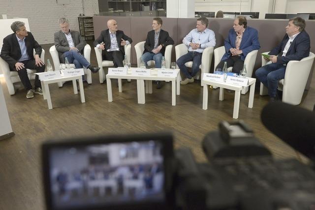 Video: So verlief die Debatte der Dietenbach-Gegner und -Befürworter im BZ-Haus