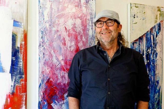 Künstler aus Rust widmet seine Bilder jeweils einer Behinderung